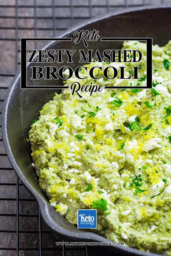 Low Carb Lemon and Feta Broccoli Mash Recipe