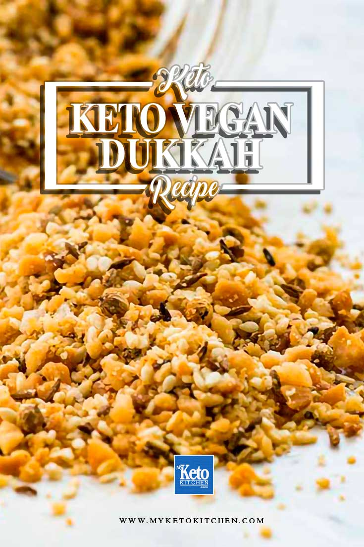 keto vegan dukkah recipe