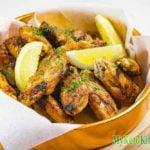 "Keto Chicken Wings – Crispy Garlic ""PAN FRIED"" Zero Carbs"