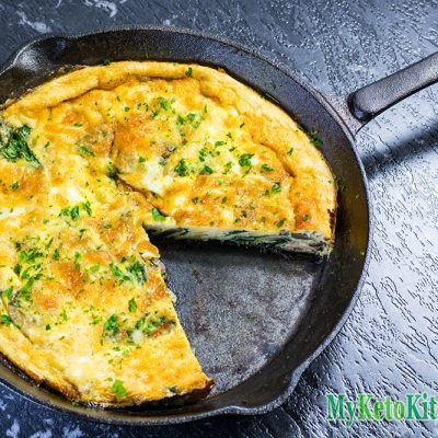 "Keto Frittata Recipe – ""Low Carb Breakfast In A Pan"" – Highly Nutritious"
