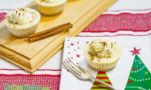 "Keto Eggnog Cheesecake Fat Bombs Recipe – ""Low Carb & Creamy"" – Xmas Treat"