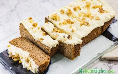 Keto Gingerbread Cake