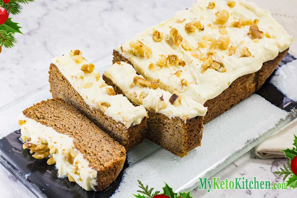 Low Fat Gluten Free Cake Recipes: Frosted Gingerbread Loaf
