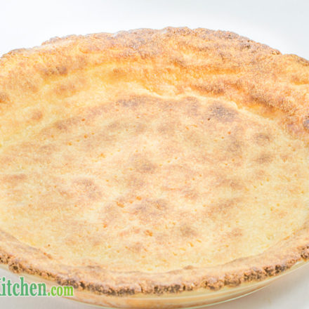 Low Carb Savory Parmesan Pie Crust keto