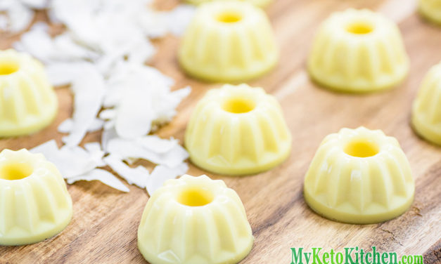 "Keto Pina Colada Fat Bombs – Low Carb ""Pineapple & Cream"" – DELICIOUS!"