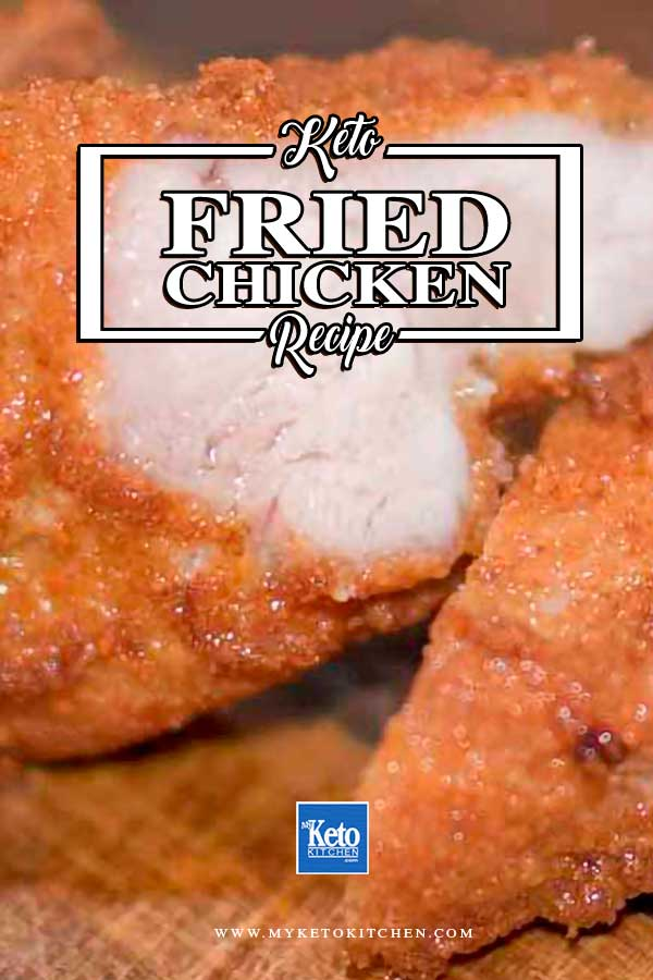 Keto Fried Chicken Breast Recipe