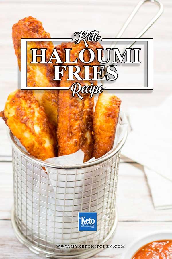 Haloumi Keto Fries Recipe