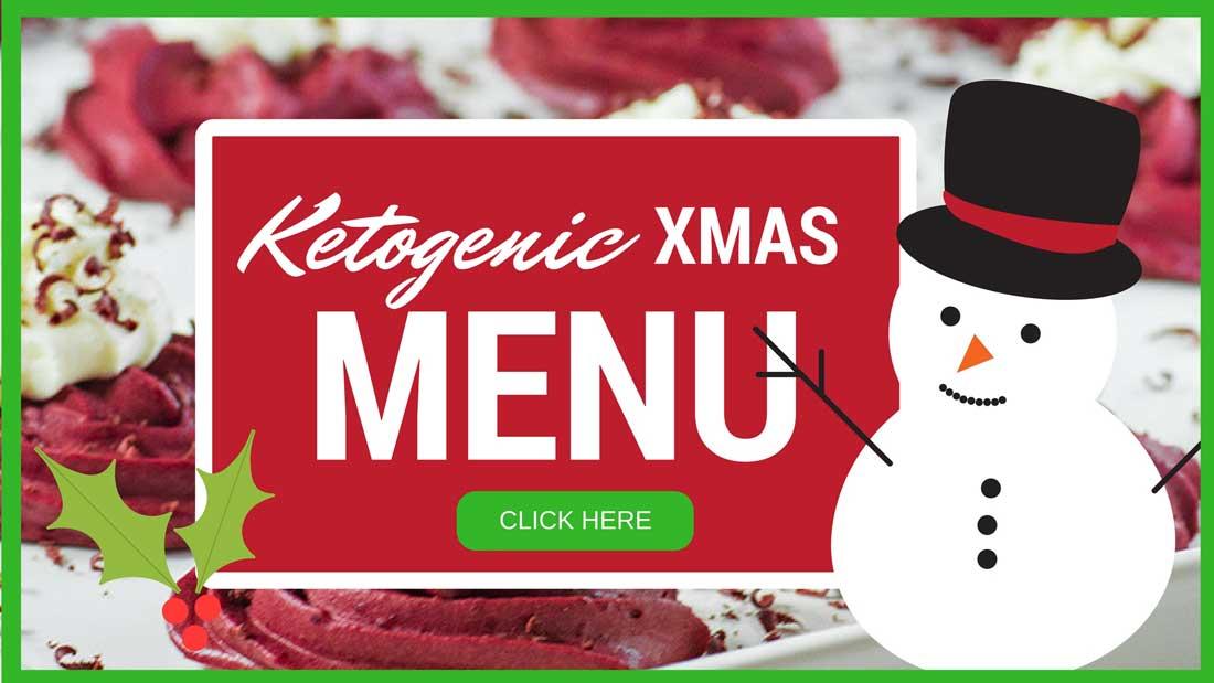 A Very Merry Keto Christmas Recipe List