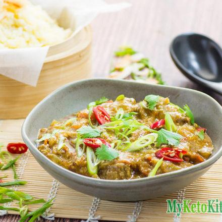 Spicy Keto Pork Vindaloo Curry Recipe
