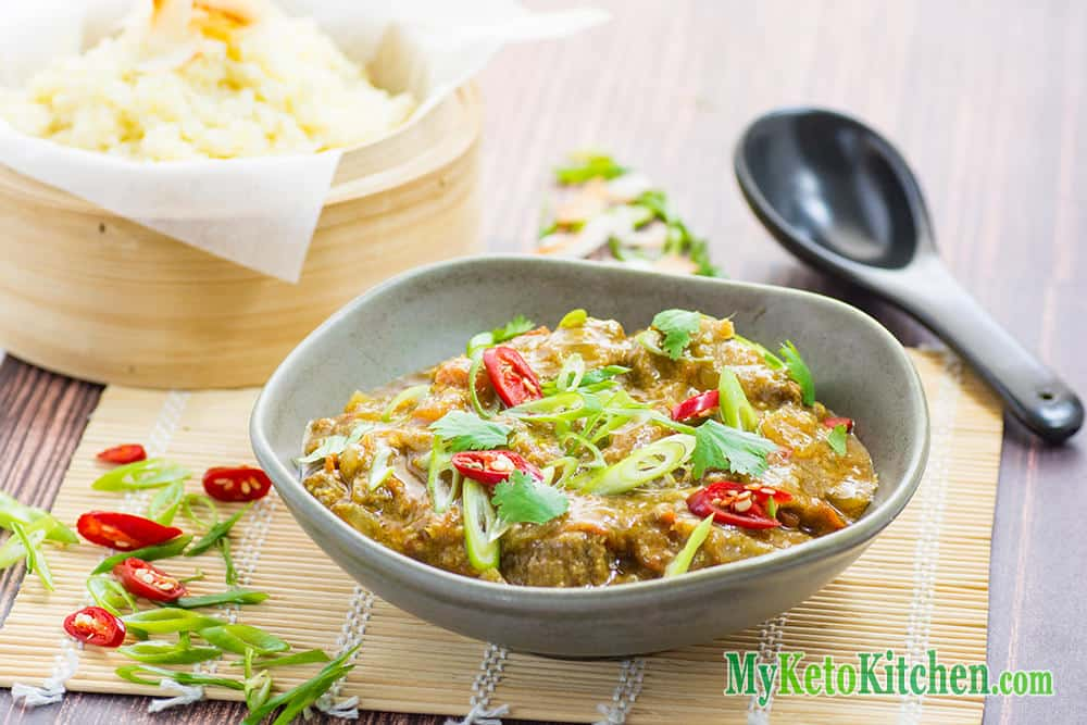 Spicy Keto Pork Vindaloo Curry Recipe
