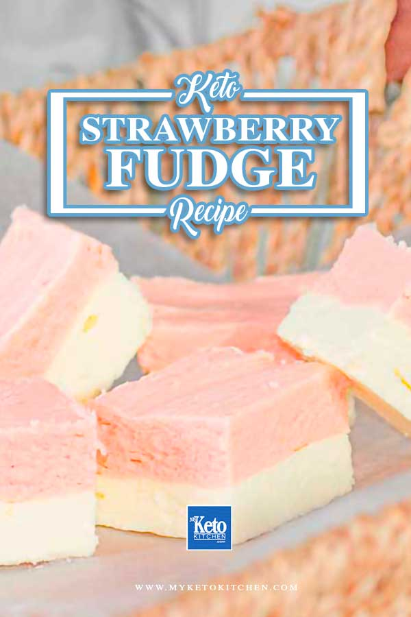 How To Make Keto Strawberry Fudge