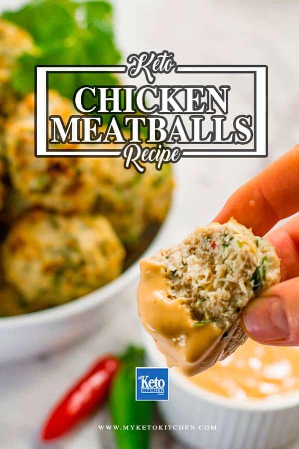 Keto Chicken Meatballs Recipe Thai Style