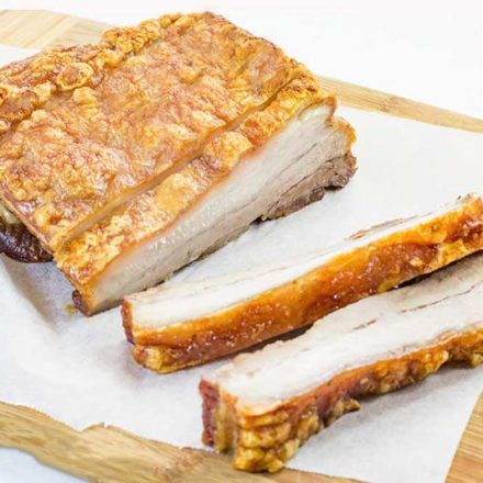 Keto Pork Belly Roast Recipe with Crackling