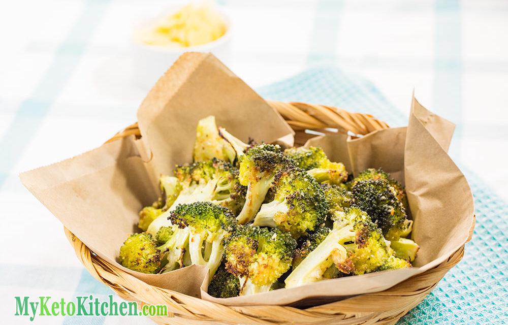 Crispy Broccoli Crunchy & Cheesy Recipe – EASY in The Oven – 100% Keto