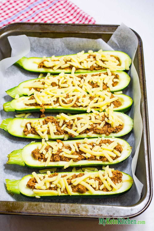 Keto Zucchini Boats Ingredients