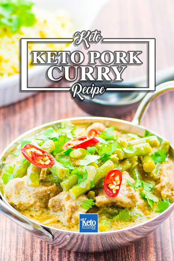 Keto Pork Curry Recipe Thai Coconut Style Mildly Spicy Aromatic