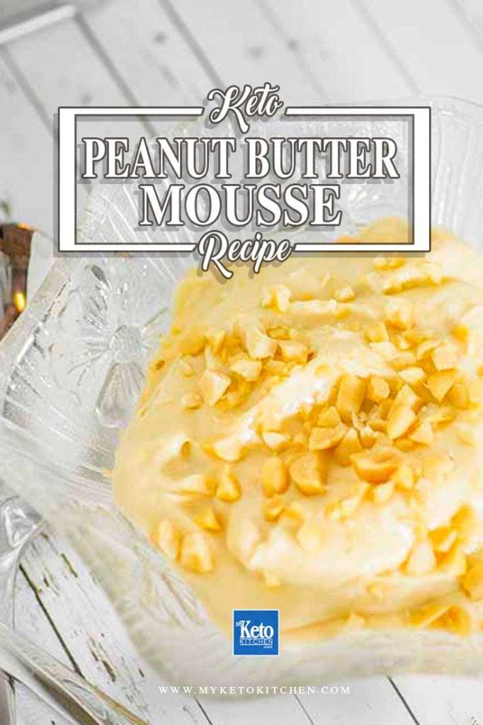 peanut butter mousse recipe