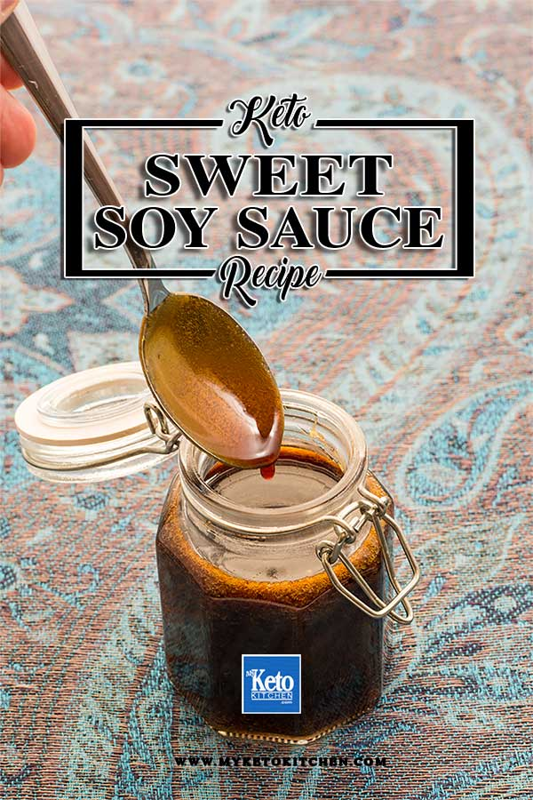How to make Sugar-Free Sweet Soy Sauce. This easy kecap manis recipe is gluten free and great for anyone on a keto or paleo diet. It's quick to make and long lasting!