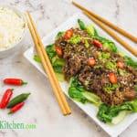Asian keto shredded beef recipe