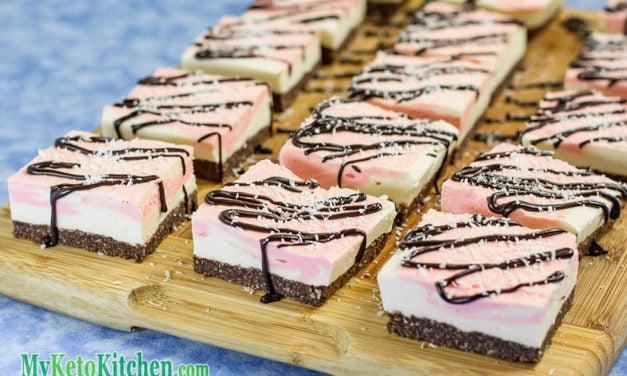 Keto Bars Recipe – Chocolate Cookie Cherry Cream