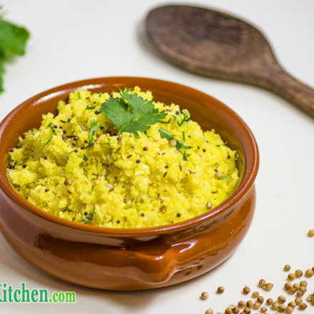 Fragrant Indian Cauliflower Rice