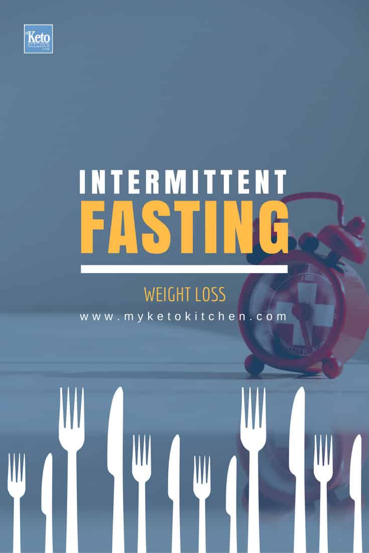 Intermittent fasting weight loss in ketosis