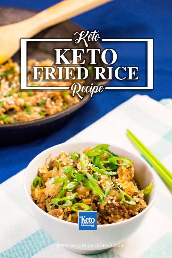 Keto fried rice recipe