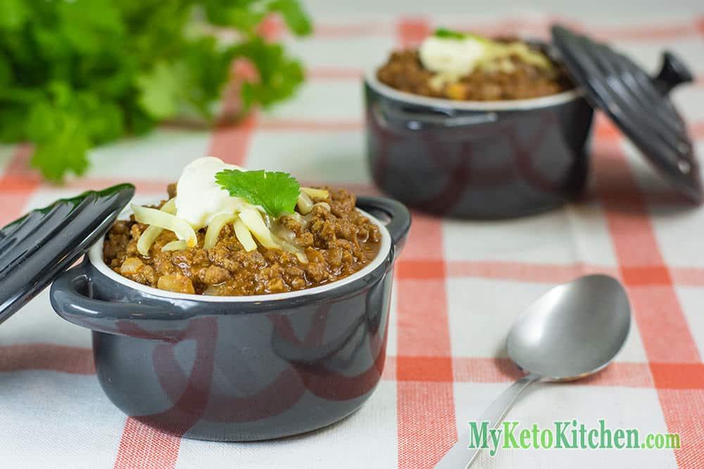 keto chili con carne ground beef recipe