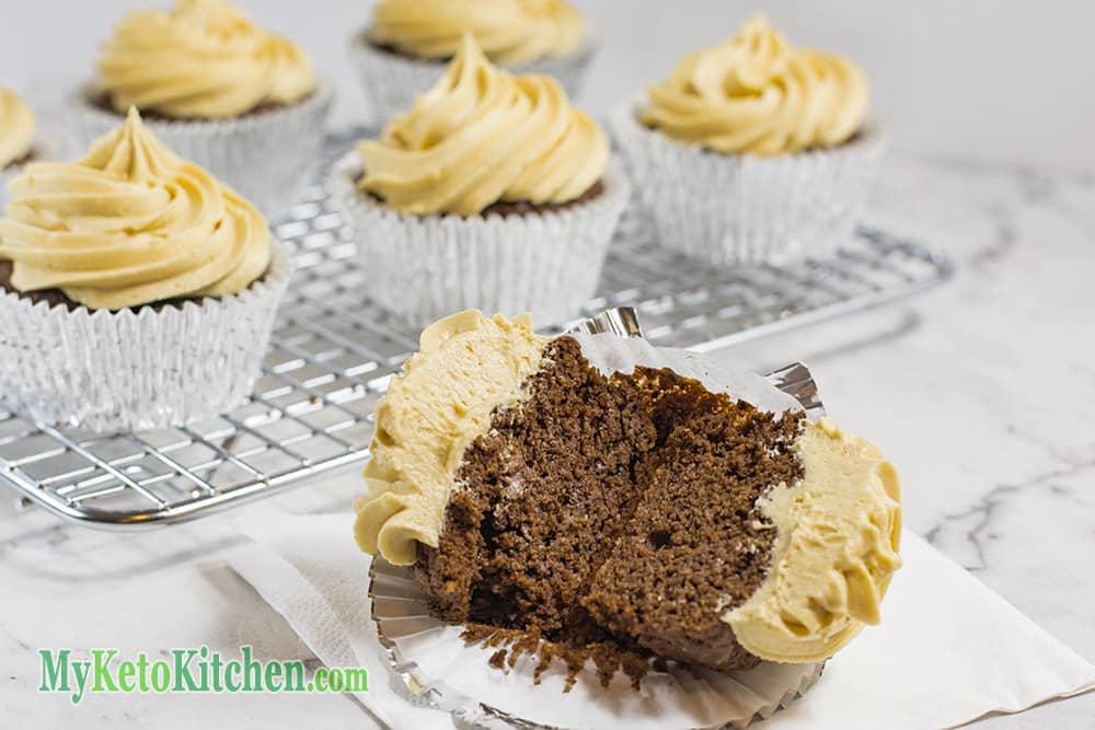 Gluten Free Cupcakes Chocolate Peanut Butter