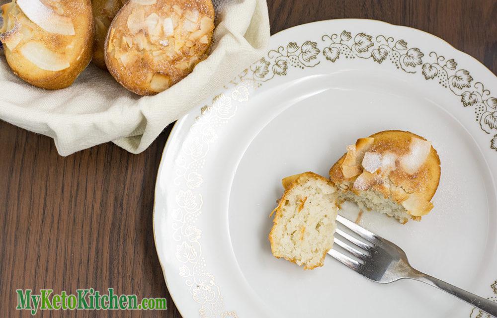 Friands Recipe Coconut and Vanilla – TASTY Keto & Gluten Free Baking