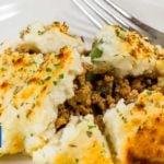 Keto Cottage Pie with Cauliflower