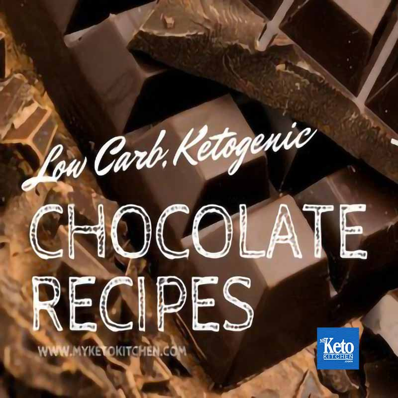 Keto chocolate recipes list