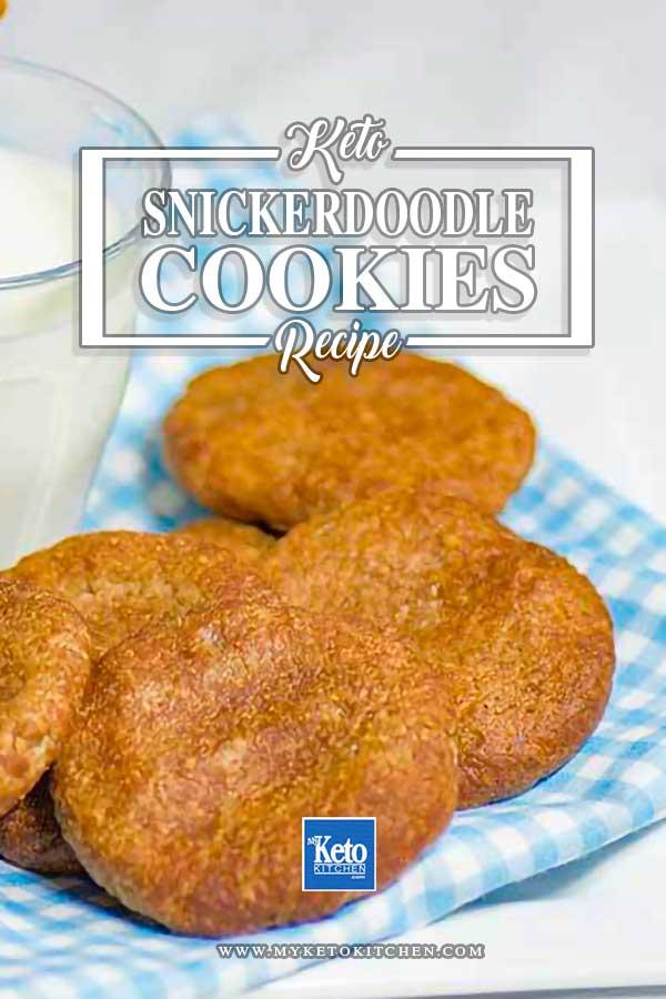 keto snickerdoodles recipe