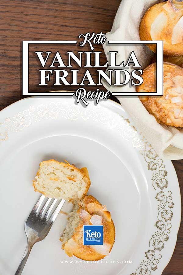 Friands Recipe Coconut Vanilla Gluten free