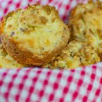 Low Carb Muffins Recipe - Bacon and Sour Cream