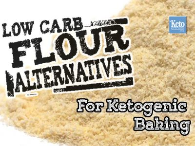 "Keto Flour Substitutes – Low Carb Flours for Baking – ""Secrets"" to Making Your Favorite Recipes"