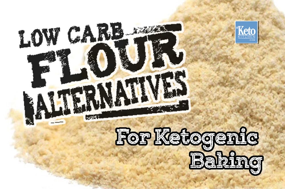 low carb flours - best keto flour substitutes