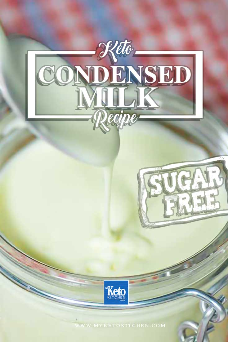 sugar free keto condensed milk