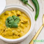 Easy Keto Indian Chicken Curry