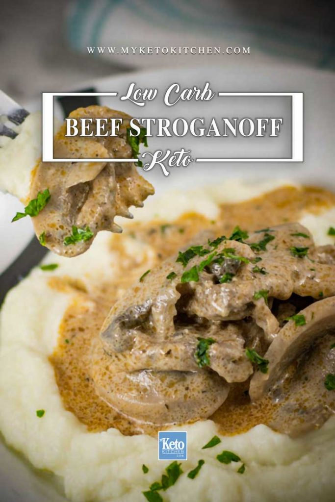 How to make Low-Carb Keto Beef Stroganoff