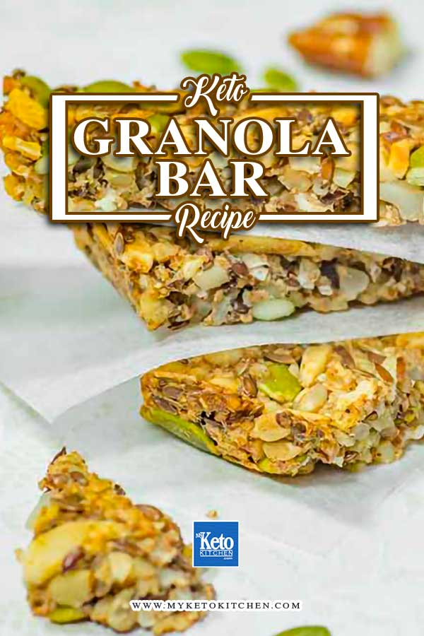 How to make Keto Granola Bars