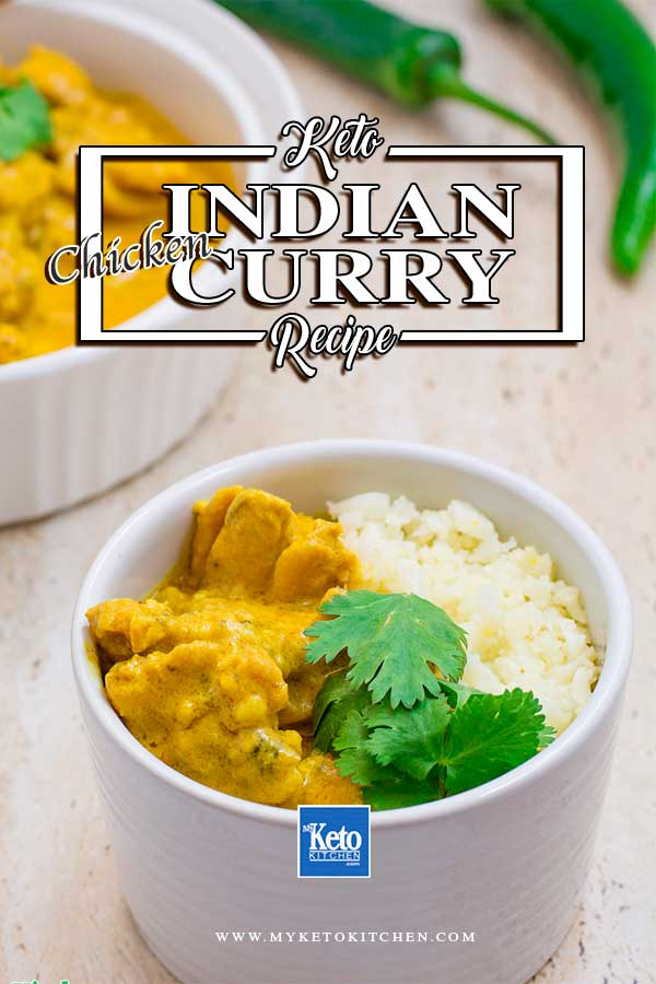 Keto curry chicken Indian Recipe Secret Low-Carb Method