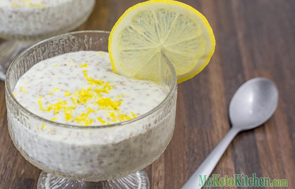 Keto Chia Pudding Recipe With Cheesecake – EASY Homemade Dessert