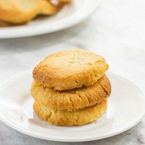 Keto Shortbread Cookies Recipe