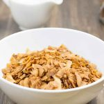 Keto Frosted Flakes Breakfast Cereal Corn Flake Alternative