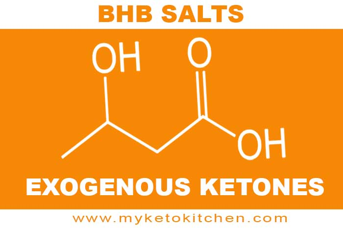 Bhb salts exogenous ketones