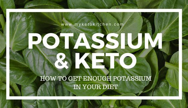 Potassium & The Ketogenic Diet – ESSENTIAL for Nutritional Balance