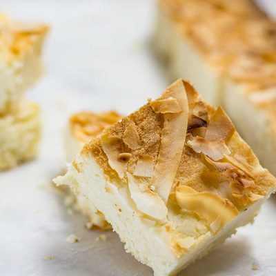 Keto Coconut Blondies – Low-Carb & Dairy Free Recipe