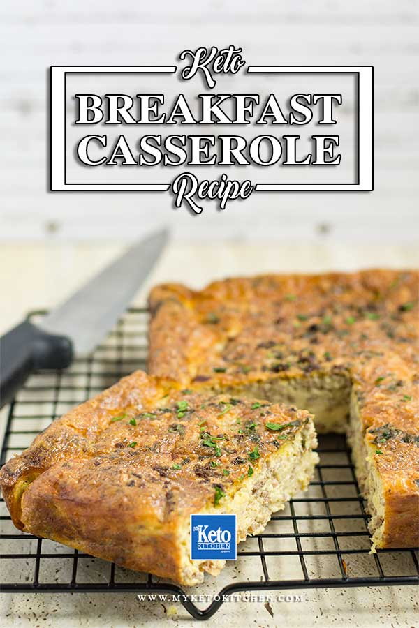 How to make Low Carb Beef Breakfast Casserole