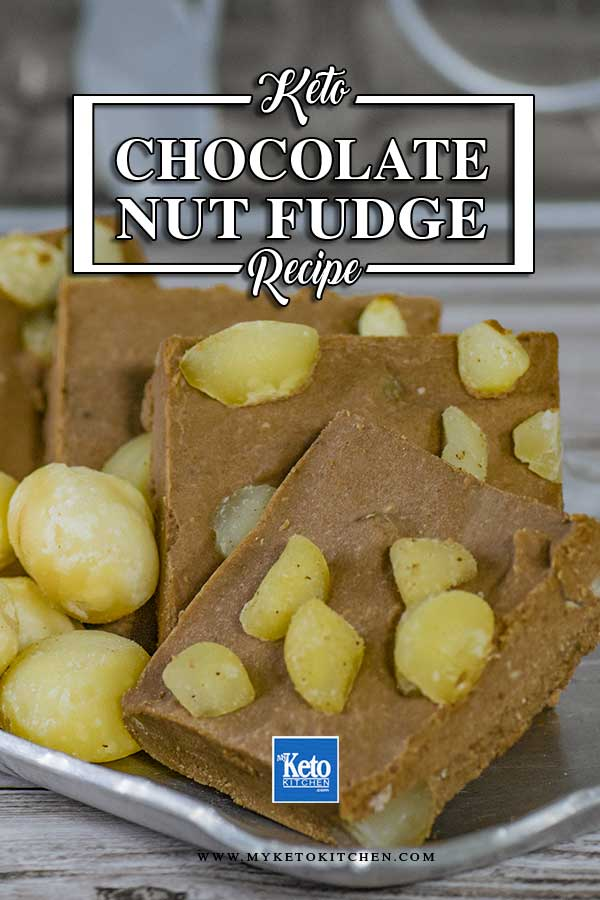 How to make Low Carb Chocolate Macadamia Nut Fudge